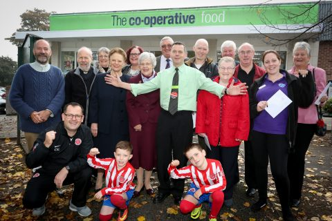Aspiring football stars at Whittington Blades Under 9's receive funding to pay for new sports kits