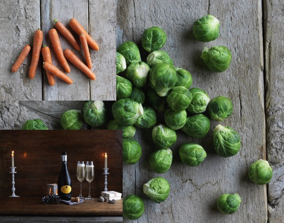 Traditional favourites like carrots and sprouts continued to sell well