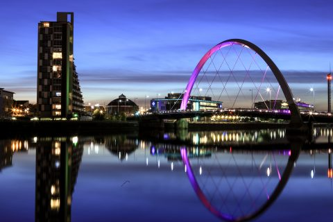 Glasgow (pictured) and Edinburgh have both progressed their commitment to become co-operative councils