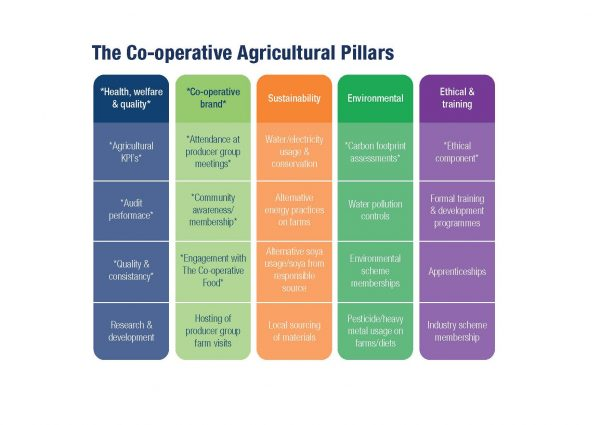 The Co-op Group's Agricultural Pillars [image: the Co-op Group]
