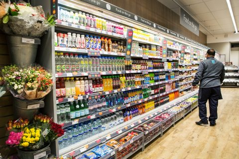 Co-op Food store at Old Street, east London. The Group's food stores have continued to increase their BrandIndex Buzz score since topping the improver rankings in January.