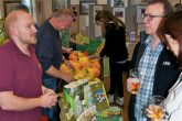 Suma and Golcar Food Growers Co-operative were among stallholders at the Co-ops Fair