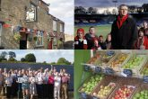 Clockwise from top left: The Hudswell Community Pub, FC United, Green Valley Grocer co-operative and Bath and West Community Energy have all successfully utilised community shares to help them start up, grow and be sustainable.