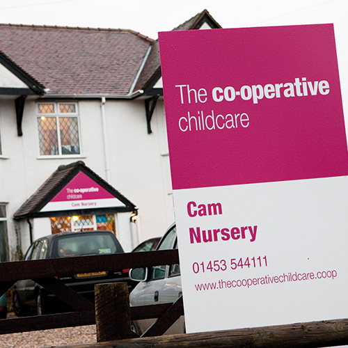 Midcounties has seen growth through the launch of new businesses, including Co-operative Childcare