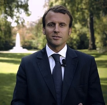 Emmanuel Macron announced his candidacy in November 2016