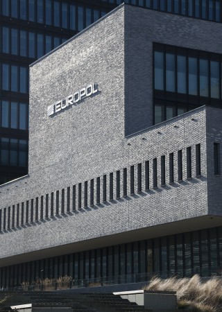 Headquarters of Europol, the law enforcement agency of the European Union