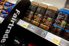 The Fairtrade section at Co-op Food
