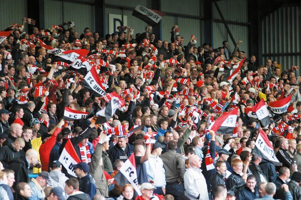 Fans at FC United of Manchester
