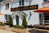The Fox and Hounds in Denmead, Hampshire. Threatened with closure, a group of local residents clubbed together to save the community asset.