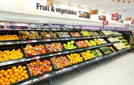 Fruit and vegetable sales have increased by 5% as customers opt for a healthy start to the year