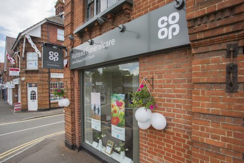 The Co-op Group's new funeral home in Ashtead, Surrey.