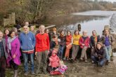 Halton residents and founder members of the Halton Lune Hydro project