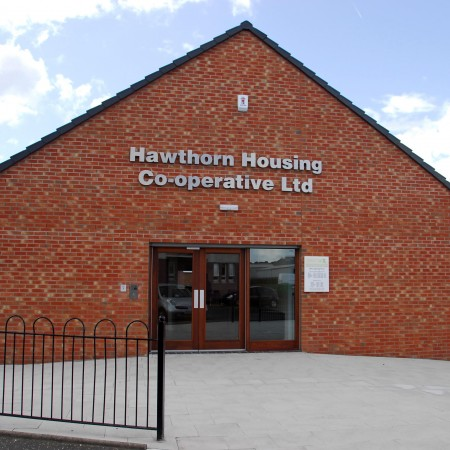 Hawthorn Housing Co-operative in Possilpark, to the north of Glasgow