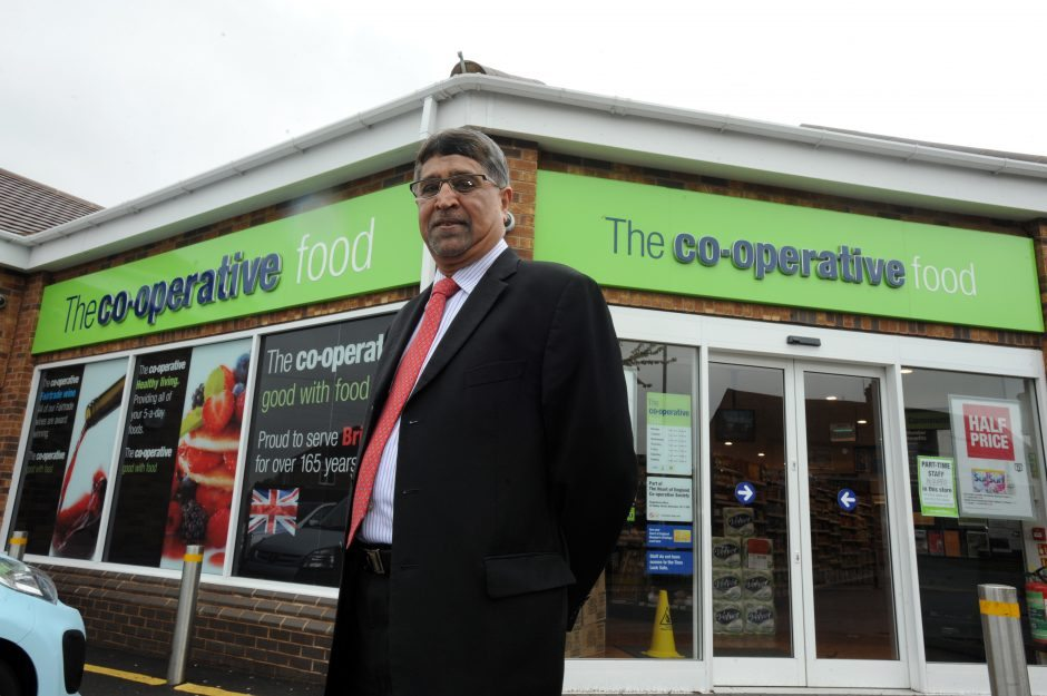 Chief Executive Ali Kurji pictured at the Ryton store, Coventry.