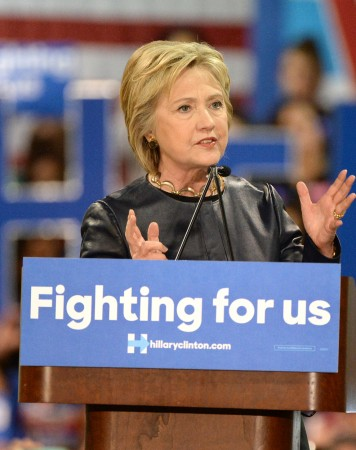 Hillary Clinton has backed credit unions