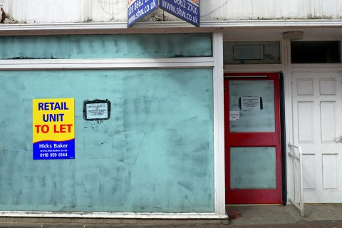 One of Britain's 27,000 vacant high street properties