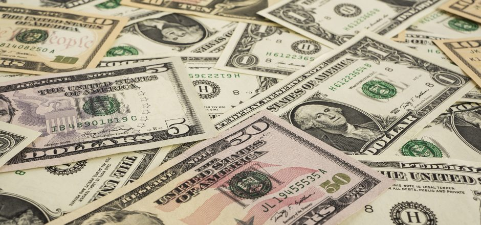 US currency notes