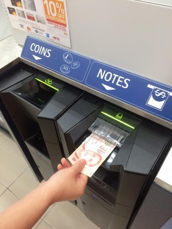 NTUC's iCash system (c) SNCF
