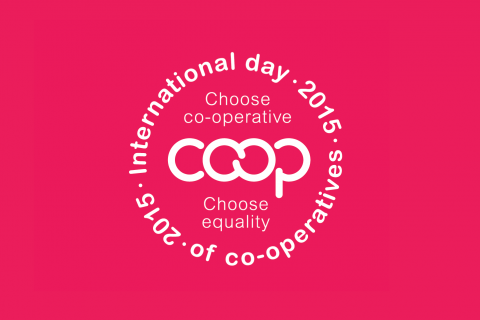 The 2015 International Day of Co-operatives theme was equality