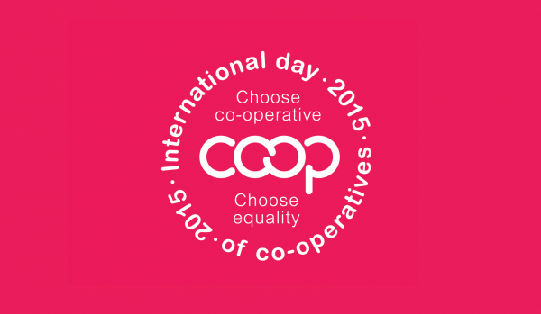 The theme of the International Day of Co-operatives 2015 was equality