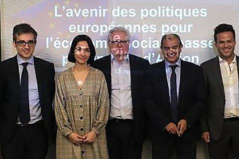 Representatives celebrate as Cecop-Cicopa joins Social Economy Europe