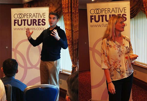 Jim Pettipher and Jo White of Co-operative Futures