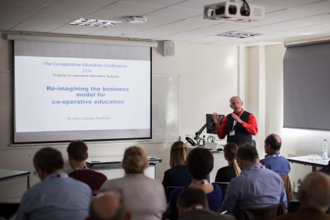 Prof Carlisle is a pioneer of business improvement through profitable co-operation