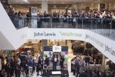 John Lewis partners, owner of the largest employee-owned business in the country, celebrate their annual bonus of 11% in March