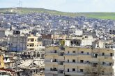 Destruction of Kobani in northern Syria