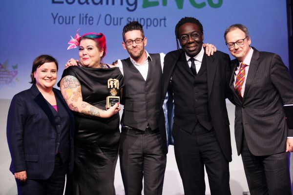 Suffolk co-op Leading Lives with host Susan Calman (far left)