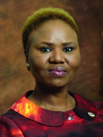 South Africa's small business development minister Lindiwe Zulu