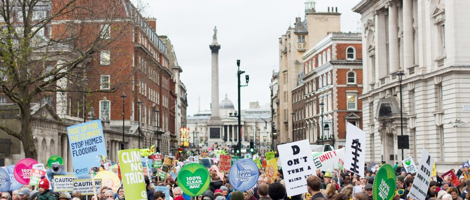 World marches for climate change