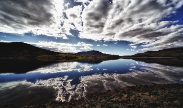 Llyn Celyn in Gwynedd, the largest of the 91 reservoirs owned by Dwr Cymru