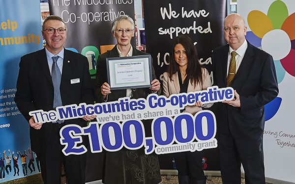 Midcounties makes a payment from its Community Fund (Image: Daniel Graves Photography)