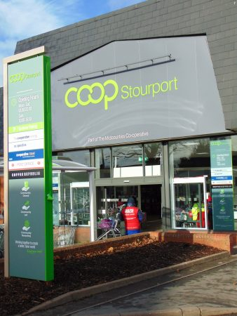 Midcounties Co-op is piloting the COOP marque on its store in Stourport (Image: Mike_Hedgethorne)