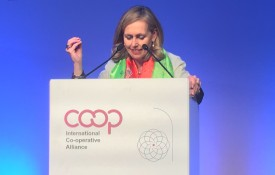 Monique Leroux, the newly elected president of the International Co-operative Alliance