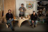 Neuron Robotic worker-owners Nicholas Bold, Alex Camilo and Kevin Harrington. Image: Andrew Harrington