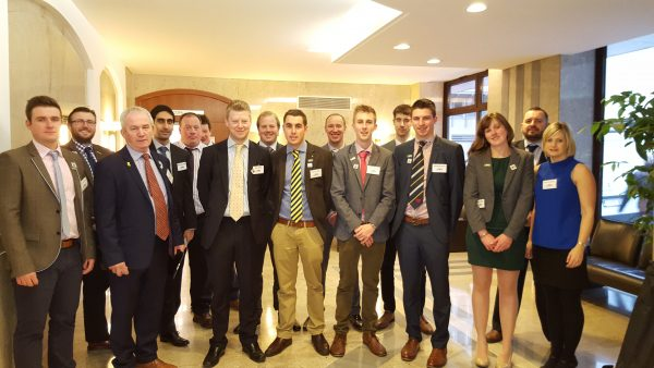 The Next Generation Policy Group met with many influential people in the agriculture sector, and were asked for their views