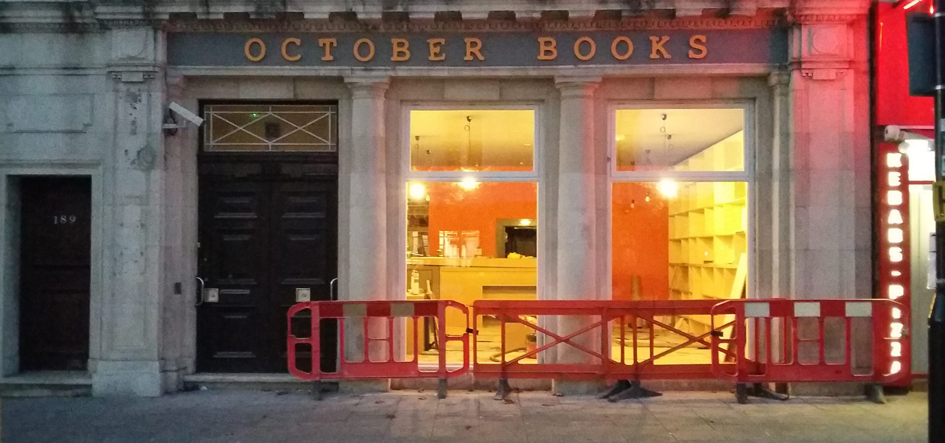 October Books' new site