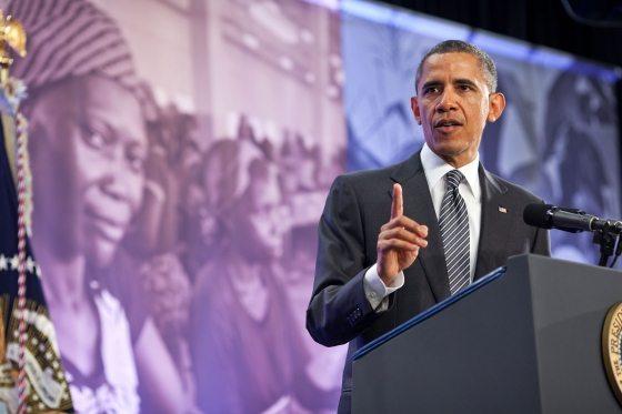 Obama backs co-operative efforts against world hunger