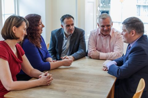 The Public Affairs Co-op team includes Paula Paterson, Emma Beeby, David Lee, Ben McLeish and Neil Cuthbert