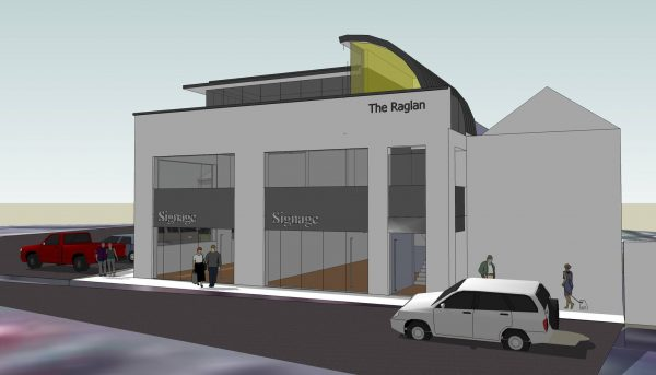 Plans for how the finished Raglan Project will look [image: Facebook/Raglan Community Development & Renovation Society]