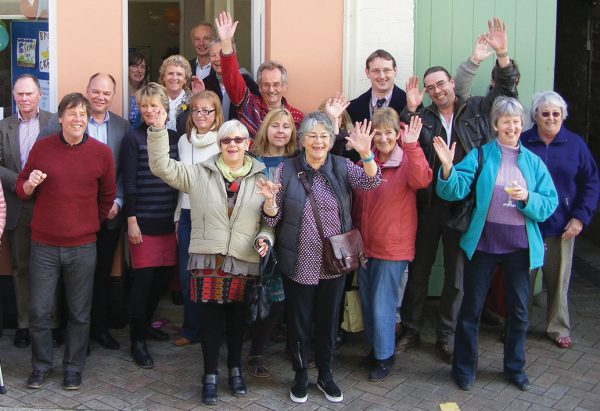 The Peninsula Trust celebrates the opening of its Rame community hub in Milbrook Cornwall.