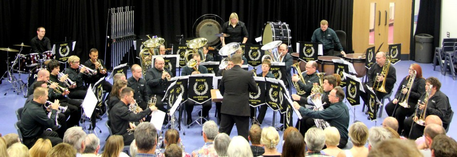 Ratby Co-operative Brass Band, founded in 1906