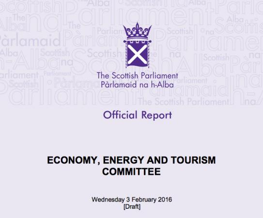 The Scottish Parliament report