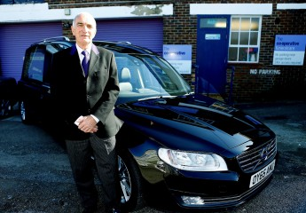 Robert Brown, Co-op Funeralcare's 1500th apprentice since the programme was launched in 2013