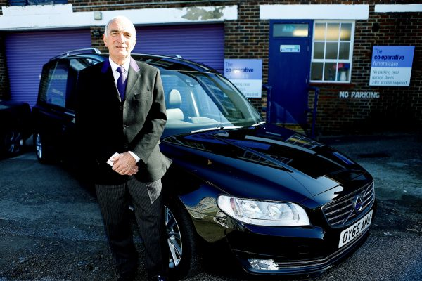 Robert Brown, Co-op Funeralcare's 1,500th apprentice since the programme was launched in 2013