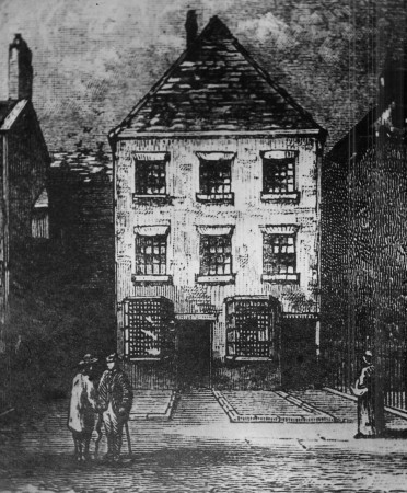 The Rochdale Pioneers opened their co-op store on Toad Lane in 1844