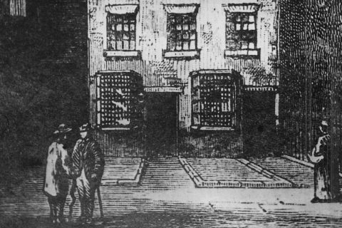 The Rochdale Pioneers' first shop on Toad Lane