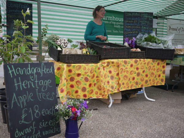 Ruth of Steepholding at market [photo: Steepholding]